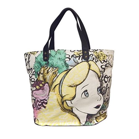 7bc361d00a Disney's Alice in Wonderland & Cheshire Cat Oversize Tote Bag ...