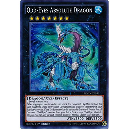 Odd-Eyes Absolute Dragon - PEVO-EN033 - Super Rare - 1st Edition - Pendulum Evolution (1st Edition) By YuGiOh