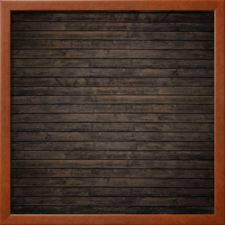 dark brown wood panels framed print wall art by reinhold leitner