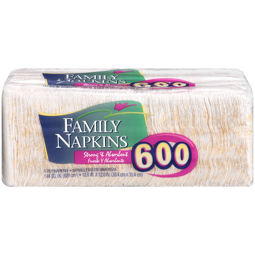 Family Napkins Napkins, 600ct