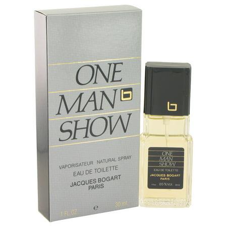 ONE MAN SHOW by Jacques Bogart Eau De Toilette Spray 1 oz for