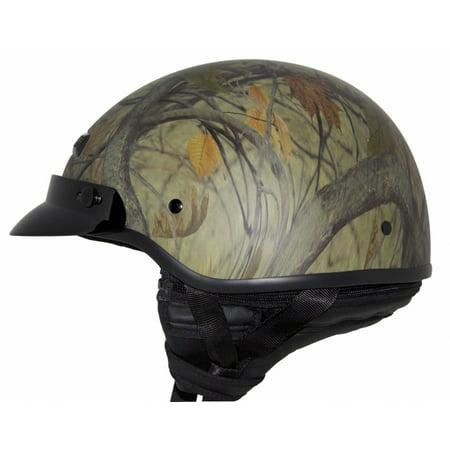 Zox Banos STG Solid Motorcycle Helmet Camo