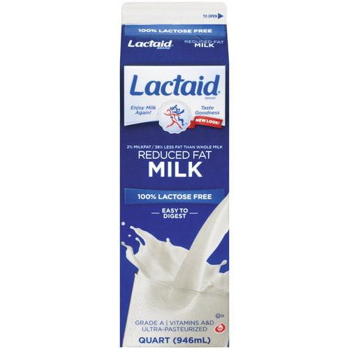 Lactaid 100% Lactose Free Milk, 1qt