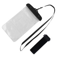 Sea Beach PVC Water Resistant Protector Case Phone Dry Bag Pouch Container Clear