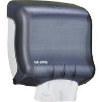 San Jamar UltraFold Towel Dispenser, Black