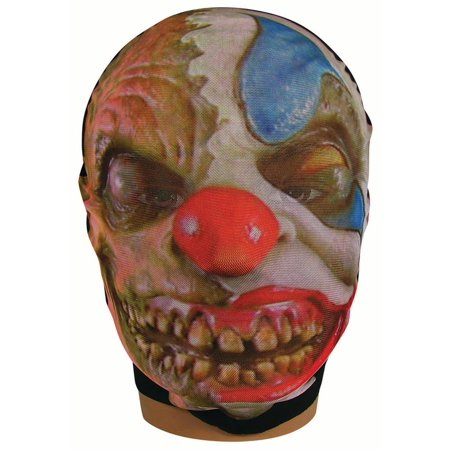 Mesh Stocking Mask Evil Clown Adult Size Halloween Party Costume Accessory - Evil Clown Masks For Sale