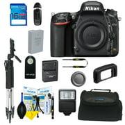 Nikon D750 DSLR Digital Camera + Pixi Basic Bundle