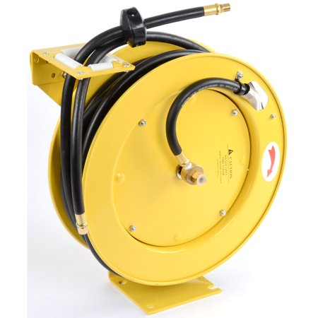 JEGS Performance Products 81056 Retractable Air Hose Reel Max Pressure: 300 PSI