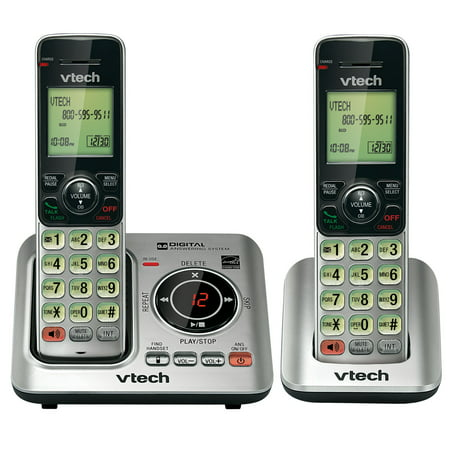 Vtech 2 Handset Cordless Phone System CS6629-2 with Caller ID and Call Waiting