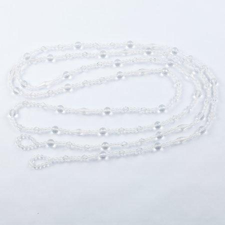 - Quasimoon 12-FT Acrylic Jewel Bead Tassel Garland Strand with Loops by PaperLanternStore