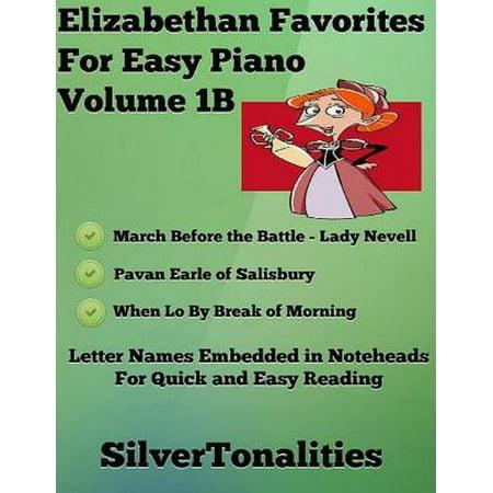 Elizabethan Favorites for Easy Piano Volume 1 B - - Elizabethan Dress For Men