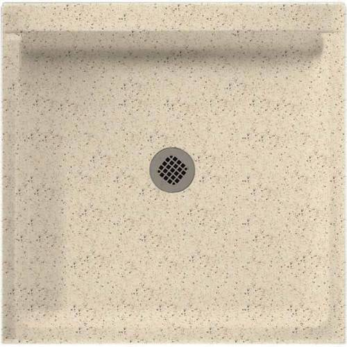 "Swan SS-3232-010 32"" x 32"" Swanstone Shower Base (Drain Included), Available in Various Colors"