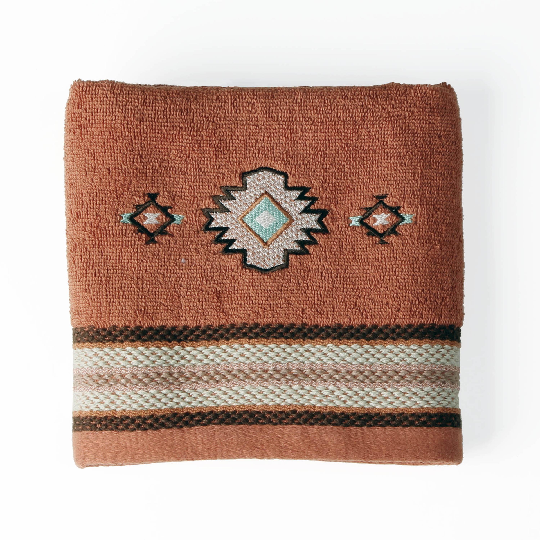 Mainstays Aztec Sunset Hand Towel 1 Each Walmart Com Walmart Com