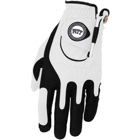 Pitt Panthers Left Hand Golf Glove & Ball Marker Set - White - OSFM - Panthers Gloves