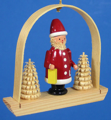 Santa Arch German Ornament  - Made in Germany
