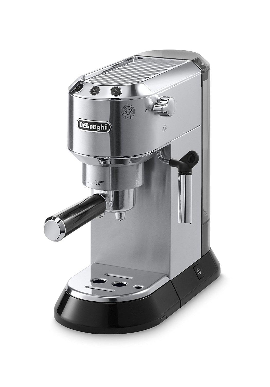 DeLonghi Dedica 15-Bar Pump Espresso Machine with Cappuccino System by DeLonghi America Inc.