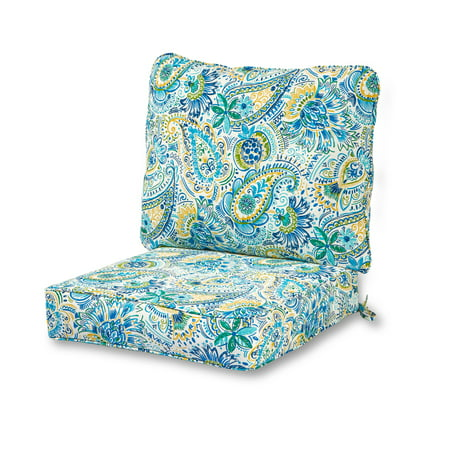 Greendale Home Fashions Baltic Outdoor Deep Seat Cushion Set ()