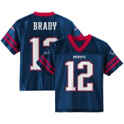 Youth Tom Brady Navy New England Patriots Team Color Jersey