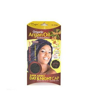 Super Restorative Collection (Organic Argan Oil Hair Sleep Cap and Bonnet Super Jumbo Size By Magic)