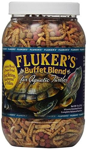 Fluker's Buffet Blend Turtle Food for Aquatic Turtles, 7.5 oz by Fluker's