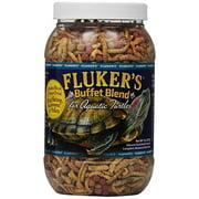 Fluker's Buffet Blend Turtle Food for Aquatic Turtles, 7.5 oz