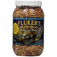 Fluker's Buffet Blend Turtle Food for Aquatic Turtles, 7.5 oz