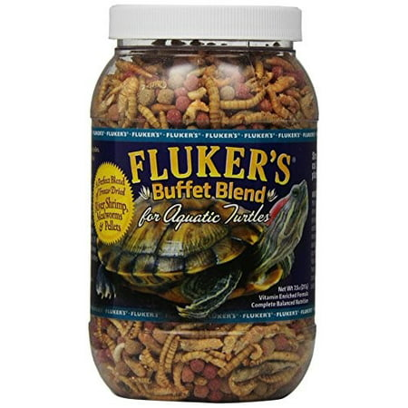 Fluker's Buffet Blend Turtle Food for Aquatic Turtles, 7.5 - Turtle Supplies