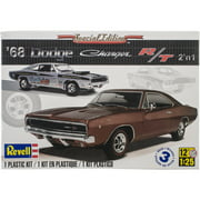 Plastic Model Kit '68 Dodge Charger 2-In-1 1:25
