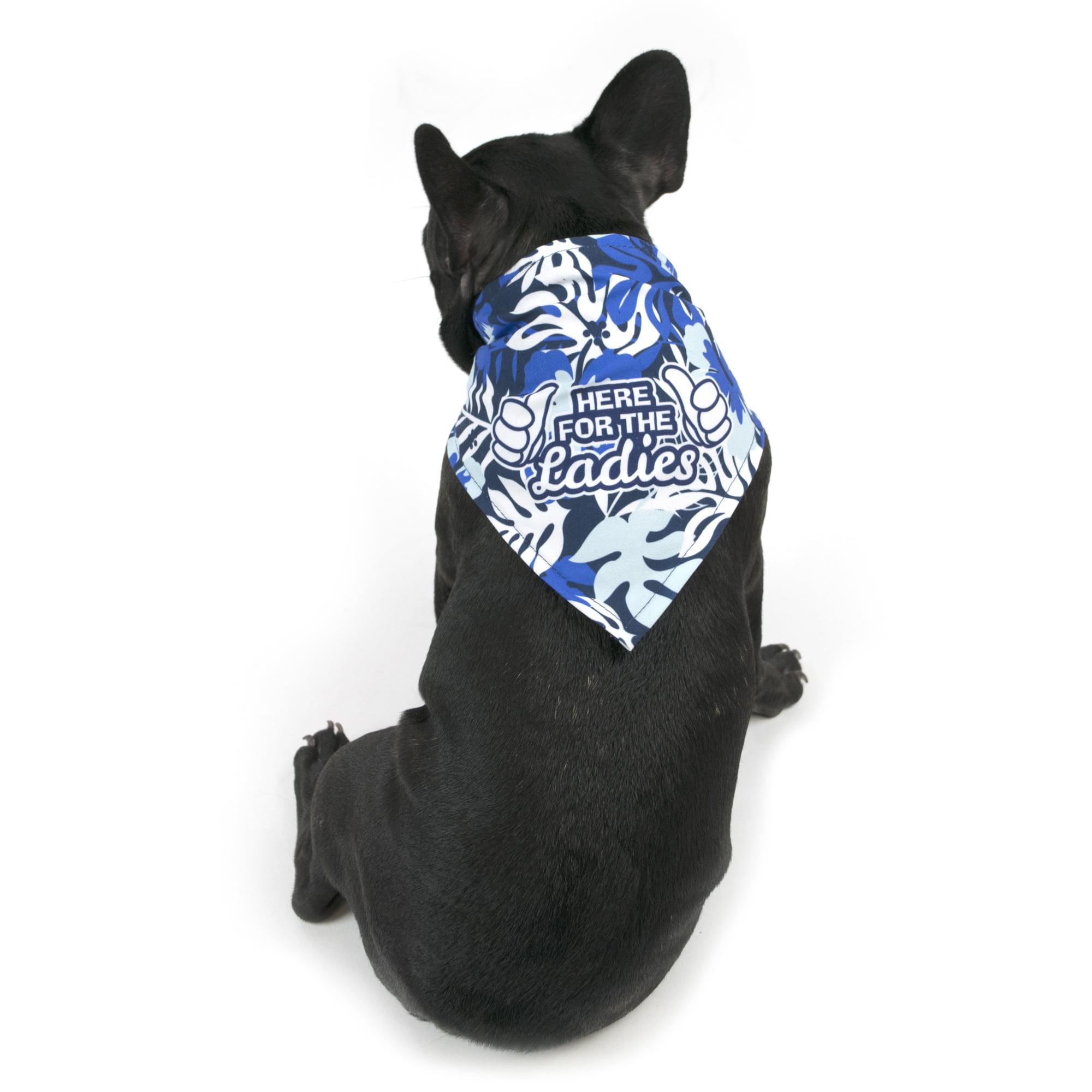 Fun in the Sun Over the Collar Dog Bandana Large
