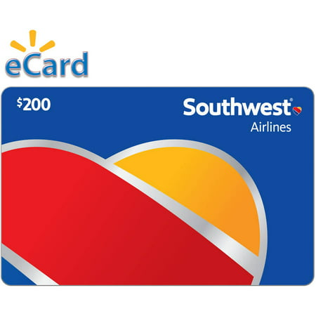 Southwest Airlines $200 Gift Card (Email Delivery)