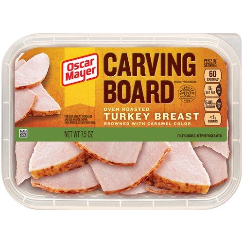 Oscar Mayer Carving Board Oven Roasted Turkey Breast, 7.5 oz