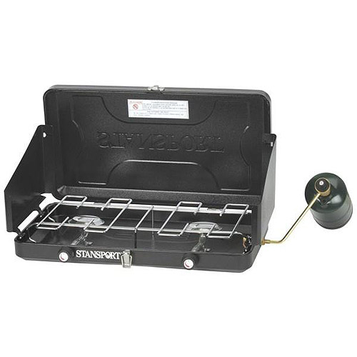 Stansport 20,000 BTU 2-Burner Propane Stove