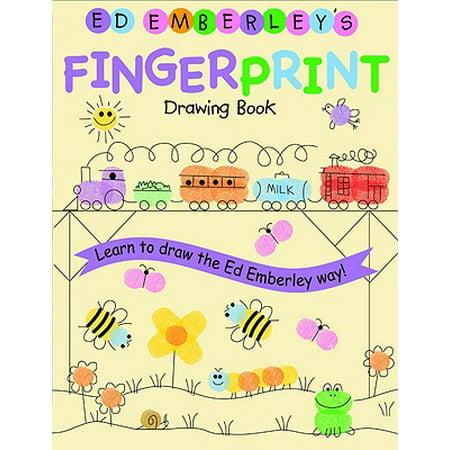 Ed Emberley's Fingerprint Drawing Book - Fingerprint Poem