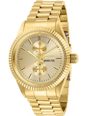 Invicta Men's Specialty Champagne Dial Gold Tone Stainless Steel Watch 29431