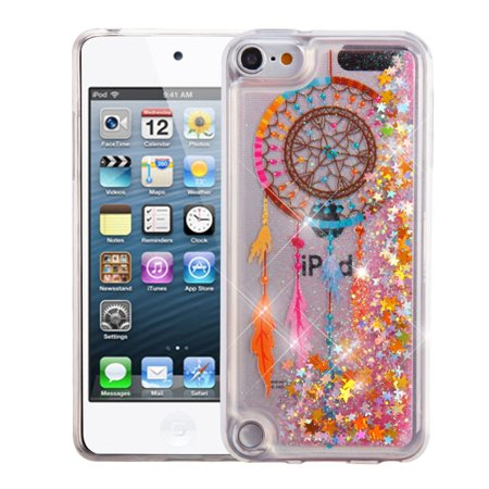 iPod Touch 6th generation case by Insten Luxury Quicksand Glitter Liquid Floating Sparkle Bling Fashion Phone Case Cover for Apple iPod Touch 6th 5th Generation