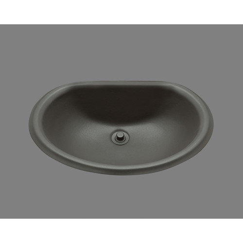 Bates & Bates Ceramics Jane Porcelain Bathroom Sink with Clips