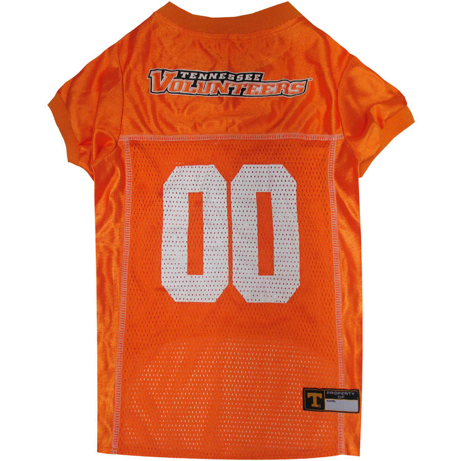 Pets First College Tennessee Volunteers Collegiate Dog Jersey, Available in Various Sizes