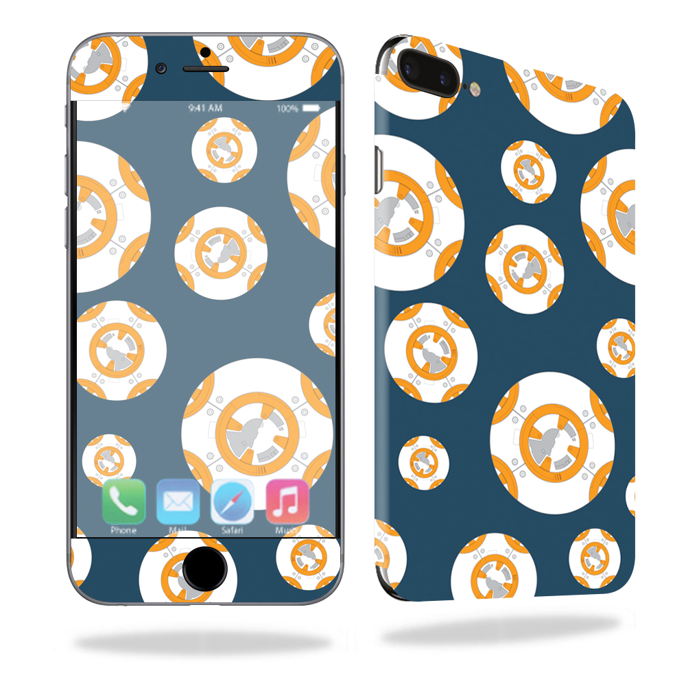 MightySkins Protective Vinyl Skin Decal for Apple iPhone 7 Plus Case wrap cover sticker skins Mini Galaxy Bots