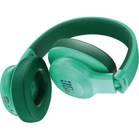 JBL E55BT Wireless Over-ear Headphones - Stereo - Teal - Mini-phone - Wired/Wireless - Bluetooth - 32 Ohm - 20 Hz - 20 kHz - Over-the-head - Binaural - Circumaural