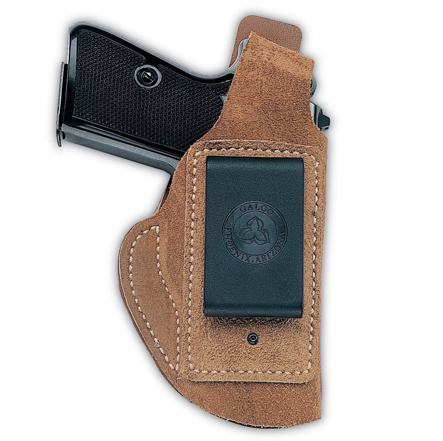 """Galco International Waistband Inside the Pant Holster for Colt 5"""" 1911 Natural, Left by Galco"""