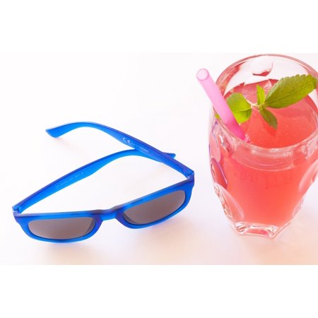 LAMINATED POSTER Summer Drink Sunglasses Refreshment Ice Cubes Poster Print 24 x 36 - Halloween Drinks Dry Ice Alcoholic