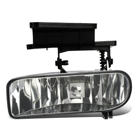 For 1999 to 2006 Chevy Silverado 1500 2500 3500 / Suburban / Tahoe Front Bumper Fog Light / Lamp Factory Style Left Side 00 01 02 03 04 05 (Oe Fog Lights For 02 Tahoe)