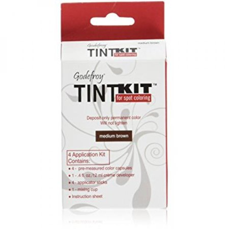 Godefroy 4 Applications Tint Kit, Medium Brown
