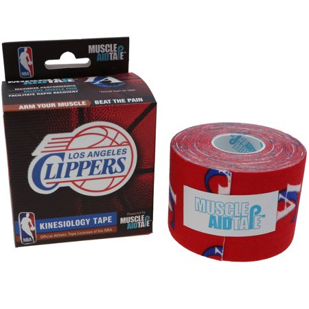 MuscleAidTape NBA Kinesiology Tape, Los Angeles Clippers by