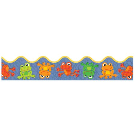 Beautiful Scalloped - FUNky Frogs Scalloped Borders