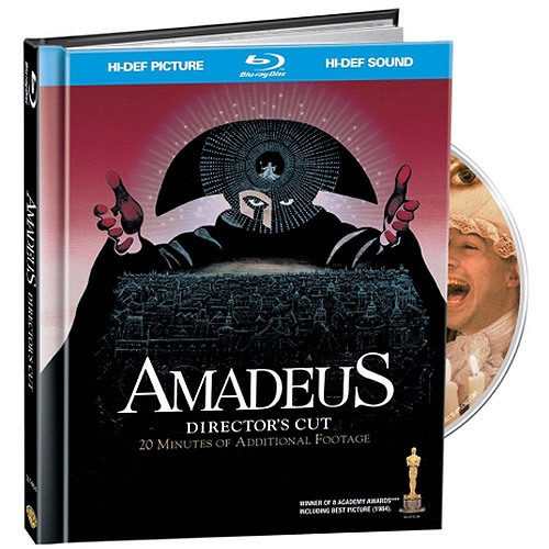 Amadeus (Director's Cut / Theatrical Cut) (With Compilation CD) (Blu-ray) (Widescreen)