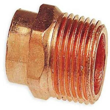 1 1 4 NOM C x 1 1 4 MNPT Copper Adapter