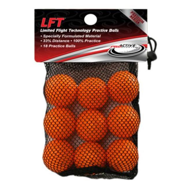 ProActive Sports MPB818 LFT Practice Balls in Mesh Bag - 18 count