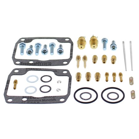 New Carburetor Rebuild Kit for Arctic Cat EXT 550 1991, EXT Mountain Cat 1991, EXT Powder Special 1996 1997, Powder Extreme (2003 Arctic Cat 500 Carburetor Rebuild Kit)