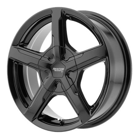 AMERICAN RACING TRIGGER 18x8 5x115.00 BLACK (15 mm)